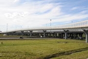 St. Petersburg Ring Road. Traffic interchange with Mocow Highway