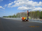 Photo Report on Construction of Express Toll Highway Moscow-St. Petersburg, Stage 4