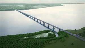 Tolyatti By-pass with the bridge over the Volga River as part of the International Road Europe – Eastern China, Stages 2 and 3