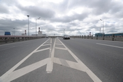 St. Petersburg Ring Road. Traffic interchange with Sofiyskaya Street