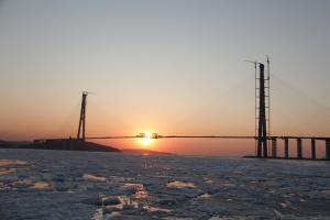 The Eastern Bosporus Bridge to Russky Island