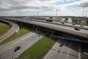 St. Petersburg Ring Road. Traffic interchange with Pulkovskoye Highway